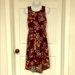 Maurices Floral High-Low Dress